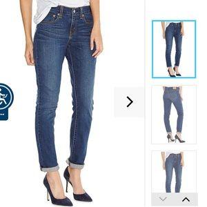 "Women's 514 38"" x 30"" jeans stretch straight midri"